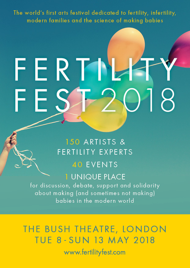Showing my work at Fertility Fest Saturday 12th May